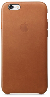 Чохол Apple Leather Case MKXC2ZM/A Saddle Brown для iPhone 6 Plus 1