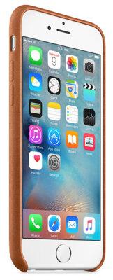 Чохол Apple Leather Case MKXC2ZM/A Saddle Brown для iPhone 6 Plus 5