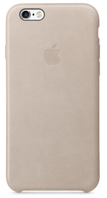 Чохол Apple Leather Case MKXE2ZM/A Rose Gray для iPhone 6 Plus 1