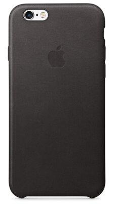 Чехол Apple Leather Case MKXF2ZM/A Black для iPhone 6 Plus 1