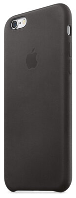 Чехол Apple Leather Case MKXF2ZM/A Black для iPhone 6 Plus 2
