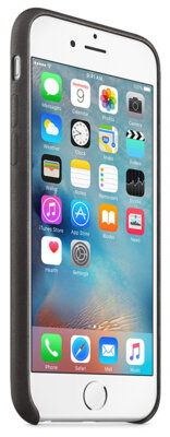 Чехол Apple Leather Case MKXF2ZM/A Black для iPhone 6 Plus 5