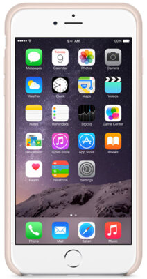 Чохол Apple Silicone Case MGQW2ZM/A Soft Pink для iPhone 6 Plus 3