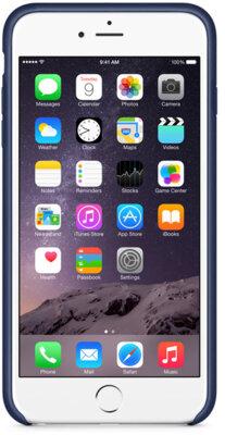 Чехол Apple Silicone Case MKXJ2ZM/A Charcoal Gray для iPhone 6 Plus 3