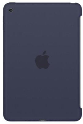 Чехол Apple Silicone Case MKLM2ZM/A Midnight Blue для iPad mini 4 1