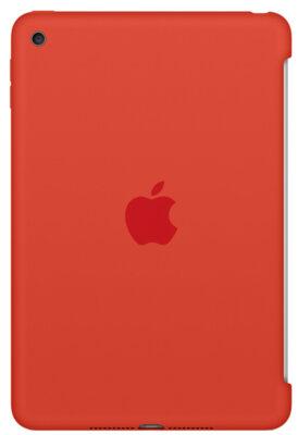 Чохол Apple Silicone Case MLD42ZM/A Orange для iPad mini 4 1