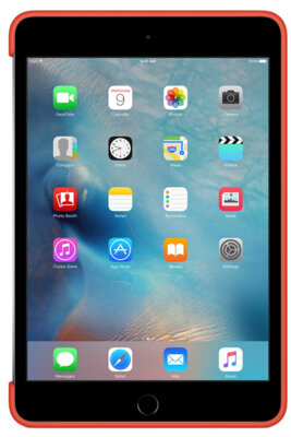 Чохол Apple Silicone Case MLD42ZM/A Orange для iPad mini 4 4