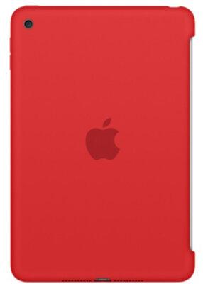 Чохол Apple Silicone Case MKLN2ZM/A Red для iPad mini 4 1
