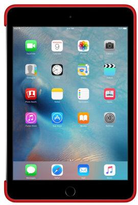 Чохол Apple Silicone Case MKLN2ZM/A Red для iPad mini 4 4