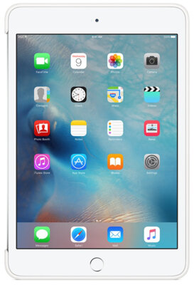 Чохол Apple Silicone Case MKLL2ZM/A White для iPad mini 4 4