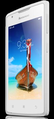 Смартфон Lenovo A1000 White 3