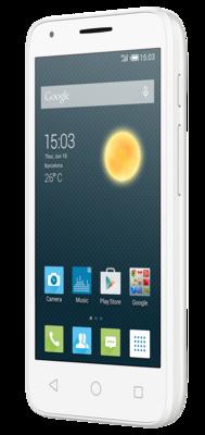 Смартфон Alcatel PIXI 3 5017D Metallic Silver 2