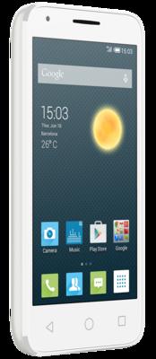 Смартфон Alcatel PIXI 3 5017D Metallic Silver 3