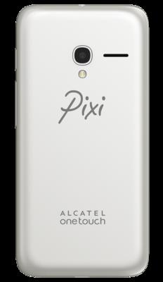 Смартфон Alcatel PIXI 3 5017D Metallic Silver 5