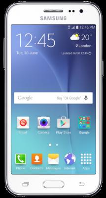Смартфон Samsung Galaxy J2 SM-J200H White 1