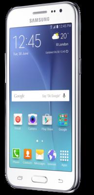 Смартфон Samsung Galaxy J2 SM-J200H White 2