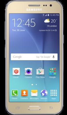 Смартфон Samsung Galaxy J2 SM-J200H Gold 1