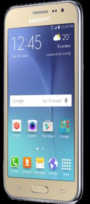 Смартфон Samsung Galaxy J2 SM-J200H Gold 2