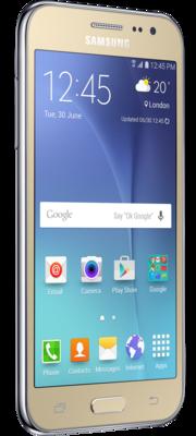 Смартфон Samsung Galaxy J2 SM-J200H Gold 3