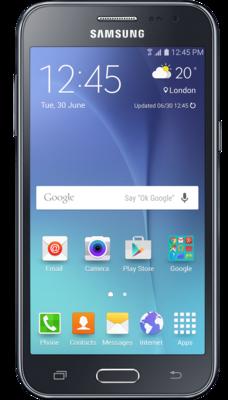 Смартфон Samsung Galaxy J2 SM-J200H Black 1