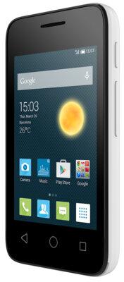 Смартфон Alcatel PIXI 4009D White 2