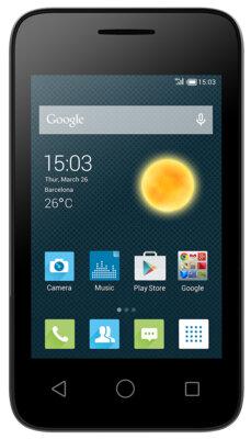 Смартфон Alcatel PIXI 4009D Volcano Black 1