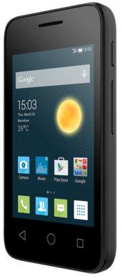 Смартфон Alcatel PIXI 4009D Volcano Black 2