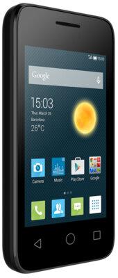 Смартфон Alcatel PIXI 4009D Volcano Black 3