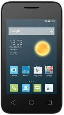 Смартфон Alcatel PIXI 4009D Metallic Silver 1