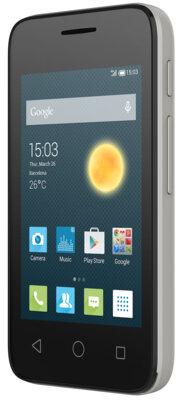 Смартфон Alcatel PIXI 4009D Metallic Silver 2