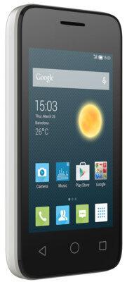 Смартфон Alcatel PIXI 4009D Metallic Silver 3
