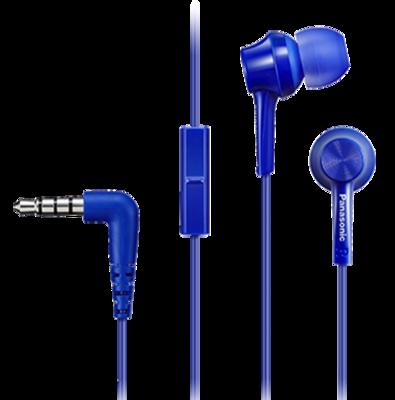 Наушники Panasonic RP-TCM105E-A Blue 1