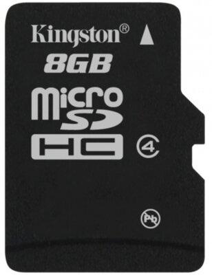 Карта памяти microSDHC 8GB Kingston SDC4/8GB 6