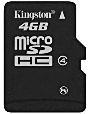 Карта пам'яті microSDHC 4GB Kingston SDC4/4GB 6