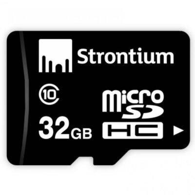 Карта памяти microSD 32GB Strontium SR32GTFC10R 1