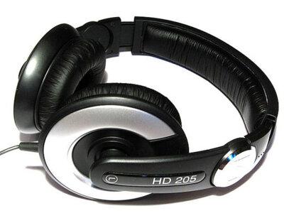 Наушники Sennheiser  HD 205-II Black 2