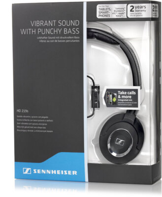 Навушники Sennheiser HD 219 S Black 4