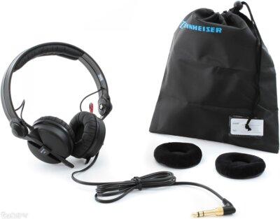 Наушники Sennheiser HD 25-1 II Black 5