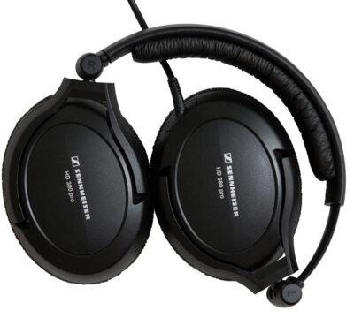 Навушники Sennheiser HD 380 Pro Black 3
