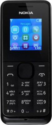 Мобильный телефон Nokia 105 DS Black 1