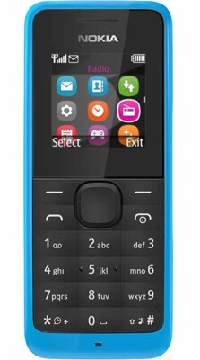 Мобильный телефон Nokia 105 DS Cyan 1