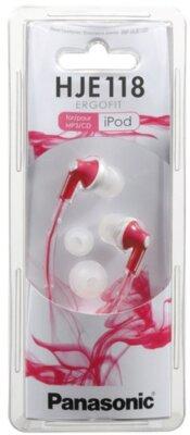Навушники Panasonic RP-HJE118GU-P Pink 1
