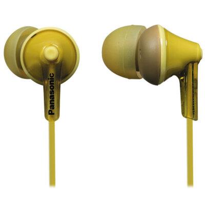 Навушники Panasonic RP-HJE125E-Y Yellow 1