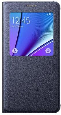Чехол Samsung S View EF-CN920PBEGRU Black для Galaxy Note 5 1