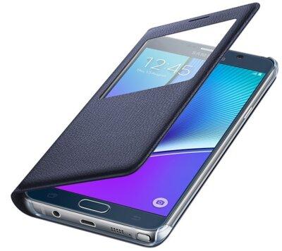 Чехол Samsung S View EF-CN920PBEGRU Black для Galaxy Note 5 3