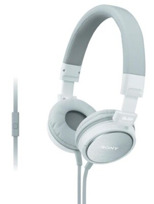 Навушники Sony MDR-ZX610AP White 1