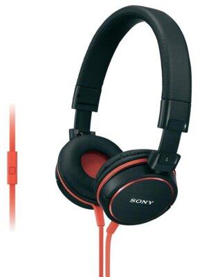 Наушники Sony MDR-ZX610AP Black-Red 1
