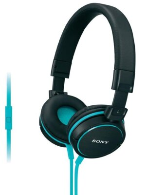 Навушники Sony MDR-ZX610AP Black-Blue 1
