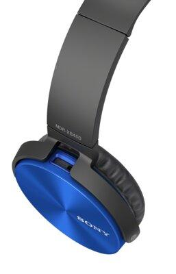 Навушники Sony MDR-XB450 Blue 4