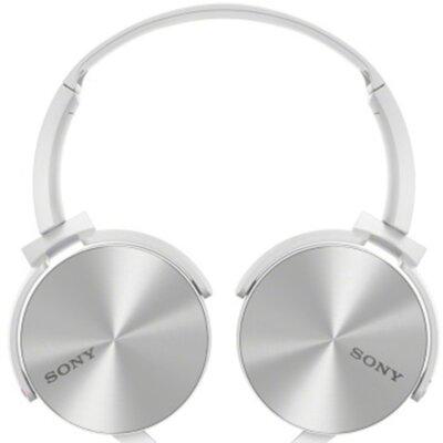 Наушники Sony MDR-XB450 White 2